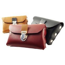 Petite pochette ceinture en cuir | Mirly Maroquinerie - France