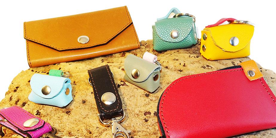 Porte-clés en cuir de Mirly Maroquinerie